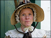 Imelda Staunton as Miss Pole in Cranford