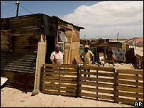 Shack in Cape Town