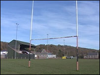 Glynneath RFC, where the wounding took place