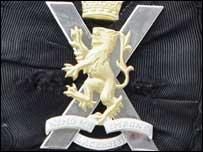 The Royal Regiment of Scotland cap badge