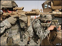 US troops in Iraq - 8/11/2007