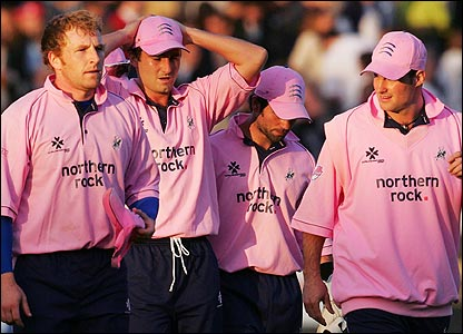 Middlesex players