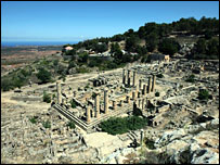 Ancient Greek ruins at Cyrene, Libya