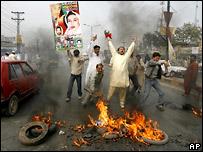 Волнения в Пакистане