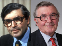 Lord Patrick Jenkin in 1980 and 2004