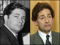 Lord Nigel Lawson in 1970 and 1996