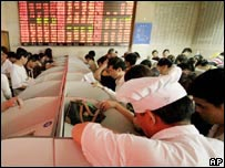 Bolsa de valores china