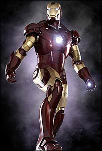 A scene from Iron Man