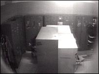 CCTV of locker room captured by Italian police