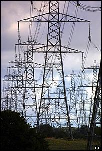 Electricity pylons (Image:PA)