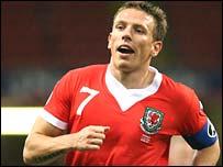 Wales captain Craig Bellamy