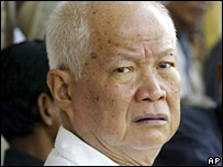 Khieu Samphan (file image from July 2003)