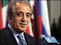 Zalmay Khalilzad, file image
