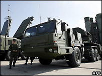 Russian S-400 Triumph rocket systems - 6/8/2007