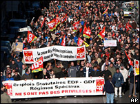 CGT protest in Marseille (14 November 2007)