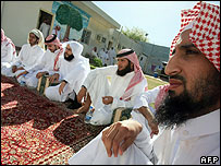 Saudis released from the US-run prison at Guantanamo Bay