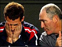 Andy Murray and Brad Gilbert