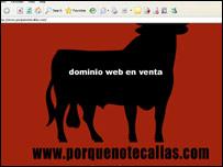 Portada del dominio web www.porquenotecallas.com