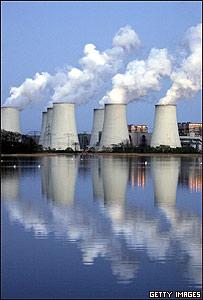 Planta de energía en Alemania