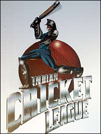 The Indian Cricket League has produced an eye-catching logo