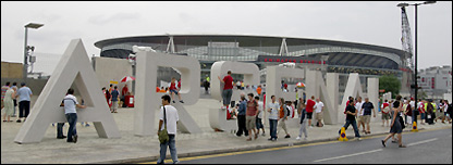 Emirates Stadium, north London