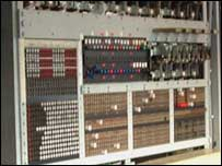 Close-up of Colossus, Bletchley Park