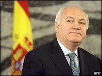 Miguel �ngel Moratinos, canciller de Espa�a