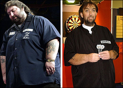 Andy Fordham then and now