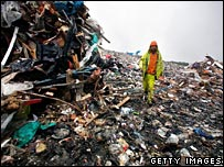 Shelford landfill, recycling and composting centre
