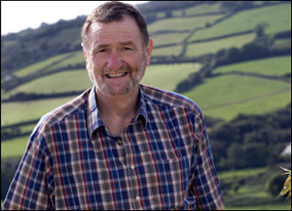 Ray Gravell pictured at his home in Mynyddygarreg