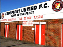 Ebbsfleet United ground