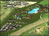 Proposed plans for Pinewood Studios