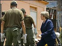 Presidenta de Chile, Michelle Bachelet en Tocopilla