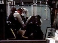Incidente en el aeropuerto de Vancouver.