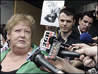 Maureen Tolfree, sister of dead journalist Brian Peters