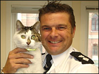Tizer with Insp Roy Sloane
