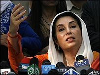 Benazir Bhutto in Lahore