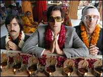 Jason Schwartzman, Adrien Brody and Owen Wilson