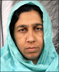 Shabnam, whose husband disappeared in 1997