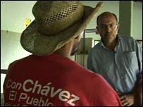 John Sweeney in Venezuela