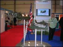 قسم الجيش الامريكي في معرض دبي