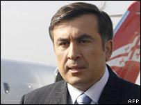 Mikhail Saakashvili 16-11-07