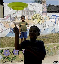 Roma children in Bulgaria