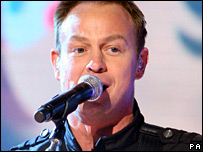 Jason Donovan. Picture by Doug Peters/PA Photos