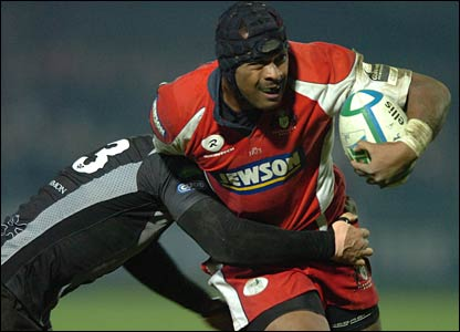 Gloucester's Fiji World Cup hero Akapusi Qera again puts a dent in Welsh rugby ambitions