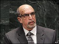 Samuel Rudolph Insanally, ministro de Relaciones Exteriores de Guyana