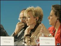Delegados en Valencia, España. BBC