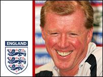 England manager Steve McClaren