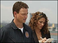Gary Sinise and Melina Kanakaredes star in CSI:NY