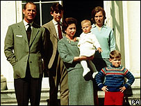 The Royal Family pictured in 1965